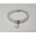 Bracelet Femme - Quartz Rose