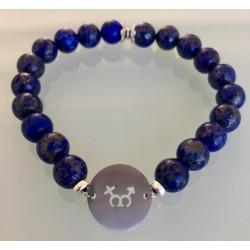 Bracelet Homme - Lapis lazuli