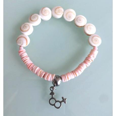 Bracelet Femme - Coquillages Sainte Lucie